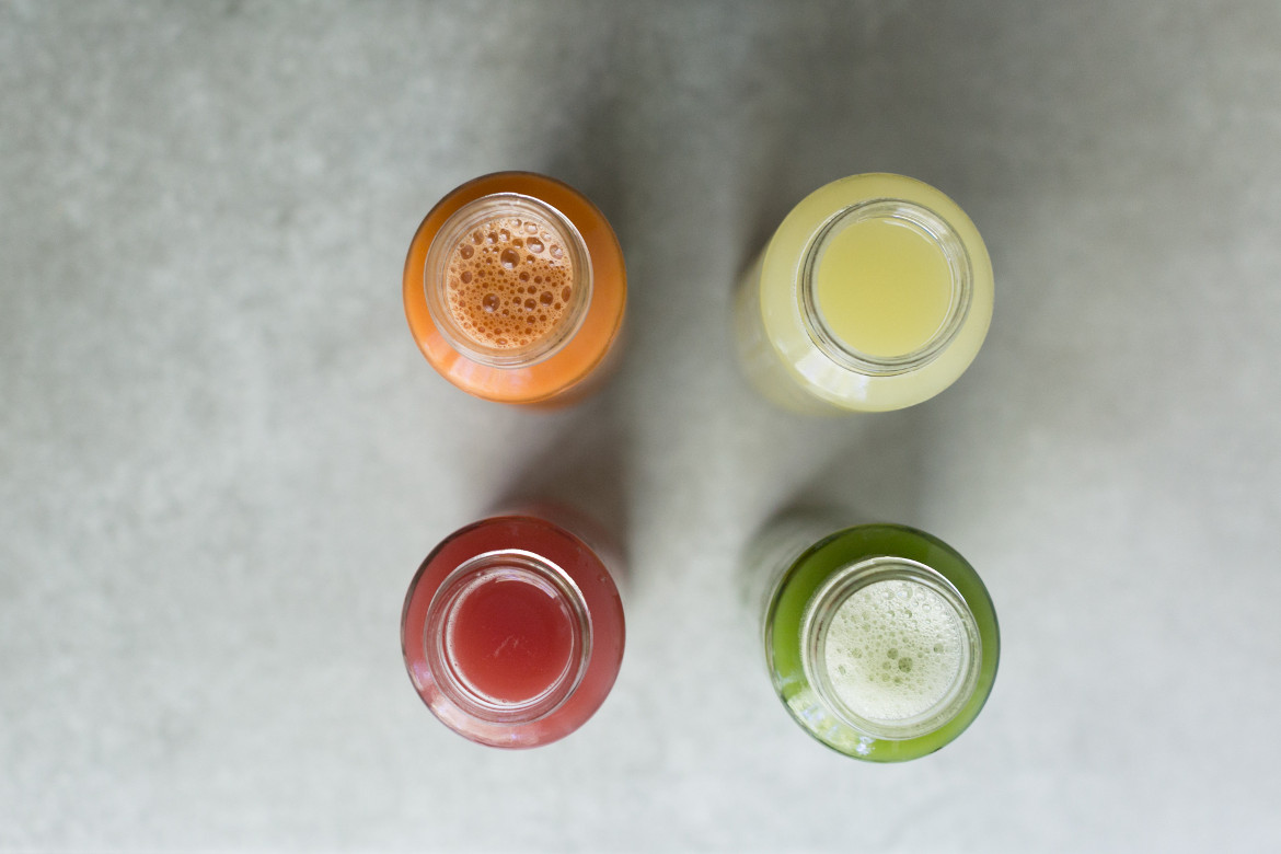 cold pressed organic juices